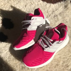 Girls Adidas Alphabounce RC xJ in Hot Pink